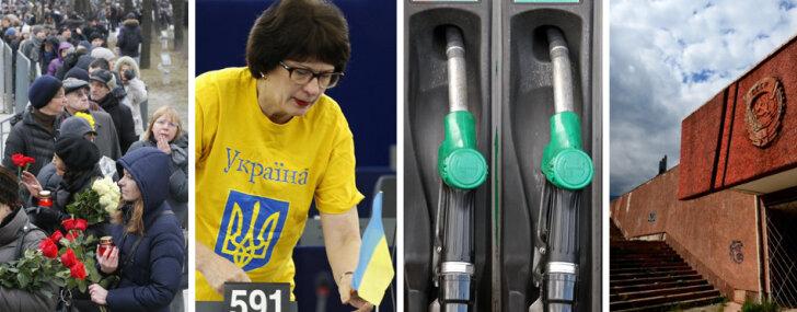 Atvadas no Ņemcova, Kalnietes izraidīšana, pārmaiņas Latvijas degvielas tirgū un Krimas ekonomikas bēdas