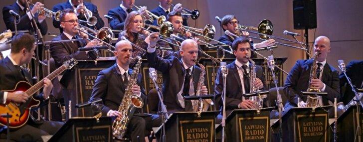 Latvijas Radio bigbends atskanos jauno programmu 'Latviešu džeza svītas II'