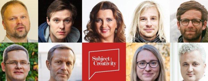 Aicina pieteikties radošo industriju konferencei 'Subject: Creativity'