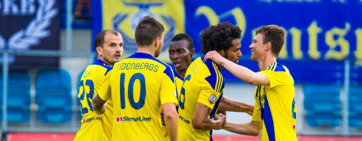 'Ventspils' ar grūtībām nosargā pārsvaru un iekļūst Latvijas kausa finālā