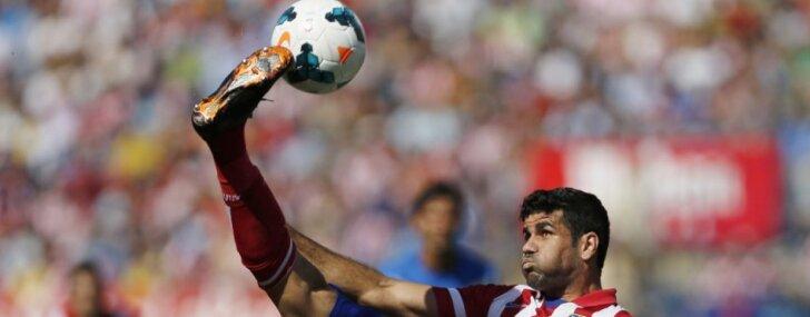 Rezultatīvais brazīlietis Kosta pievienojas Spānijas futbola klubam Madrides 'Atletico'