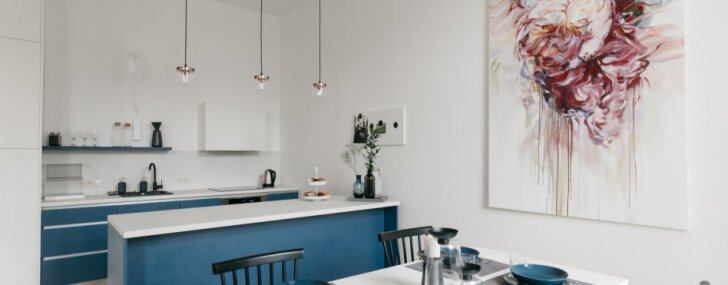ФОТО. Новые жильцы каждый день: стильная квартира для иностранных гостей