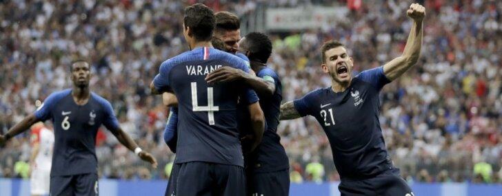 FIFA rangā vadību pārņem Francija, Latvija saglabājusi 129.vietu