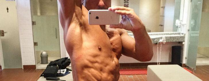 Jurkāna skandalozais dēls kļuvis par īstu fitnesa skaistuli
