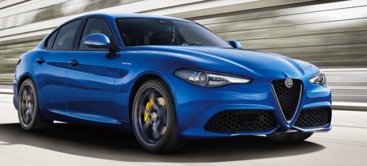 'Alfa Romeo Giulia' sedans turpmāk arī 'Veloce' versijā