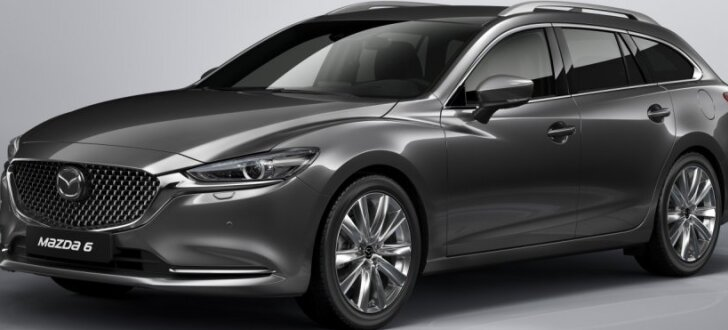 Pirmie attēli ar modernizēto 'Mazda6' universāli