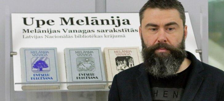 Latvijas Nacionālajā bibliotēkā atklāj Melānijai Vanagai veltītu izstādi