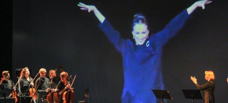 Foto: Baleta leģendai Maijai Pļiseckai veltītais uzvedums Nacionālajā operā