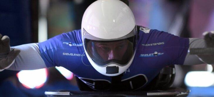 Foto: Renes šļūcēji Siguldā liek punktu olimpiskajai sezonai