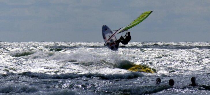 Foto: Liepājā noslēdzies pasaules čempionāts vindsērfingā jauniešiem