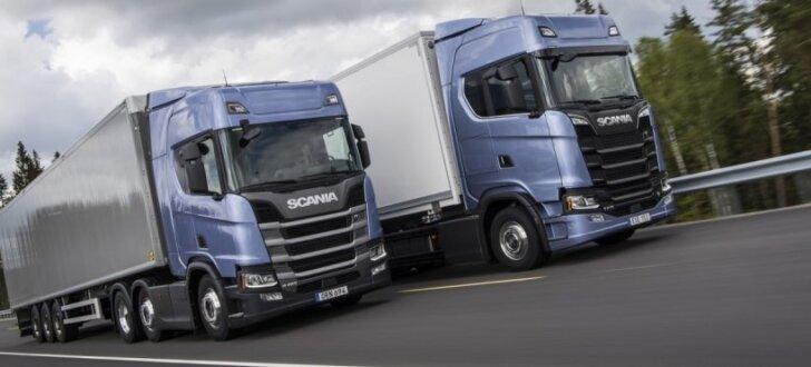 'Scania' prezentējusi savu jaunāko kravas automobiļu paaudzi
