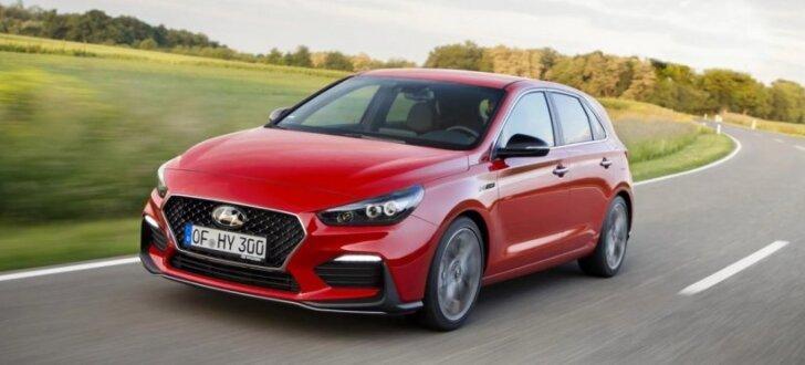 Jaunais 'Hyundai i30' ieguvis sportisko pakotni 'N Line'