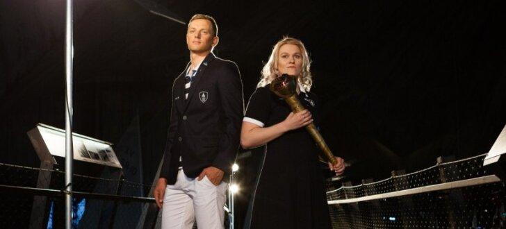 Foto: Igaunijas olimpiskie tērpi - Baltijas jūras iedvesmoti