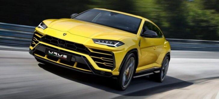 'Lamborghini' prezentējis pasaulē visātrāko apvidnieku