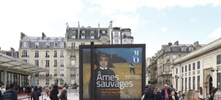 Ieskats Baltijas mākslas izstādē prestižajā Orsē muzejā Parīzē