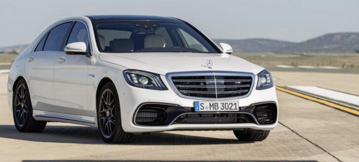 'Mercedes' modernizējis S-klases limuzīnu