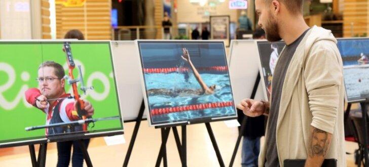 Foto: Atklāta fotoizstāde par Latvijas paralimpiešu startu Rio