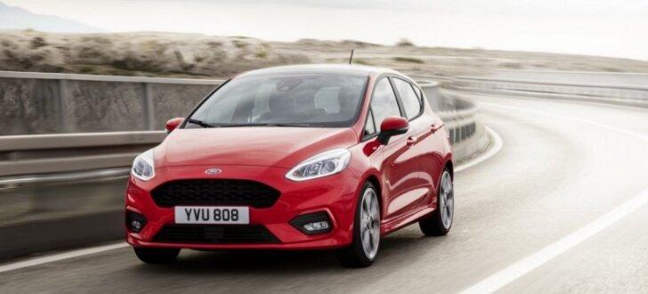 'Ford' prezentējis septītās paaudzes 'Fiesta' modeli