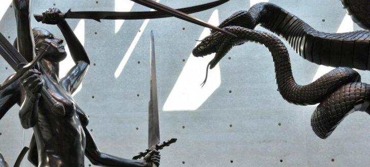Mūsdienu mākslas ekscentriķa Demjena Hērsta jaunā izstāde Venēcijā