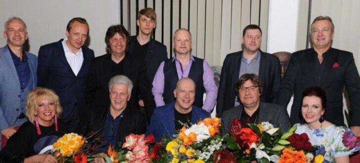 'Zodiaks', 'Sīpoli' un 'Turaidas roze' satiekas Aivara Gudrā jubilejas koncertā