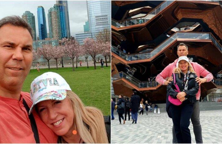 Olgas Rajeckas un viņas mīļotā Ivo piedzīvojumi Ņujorkā