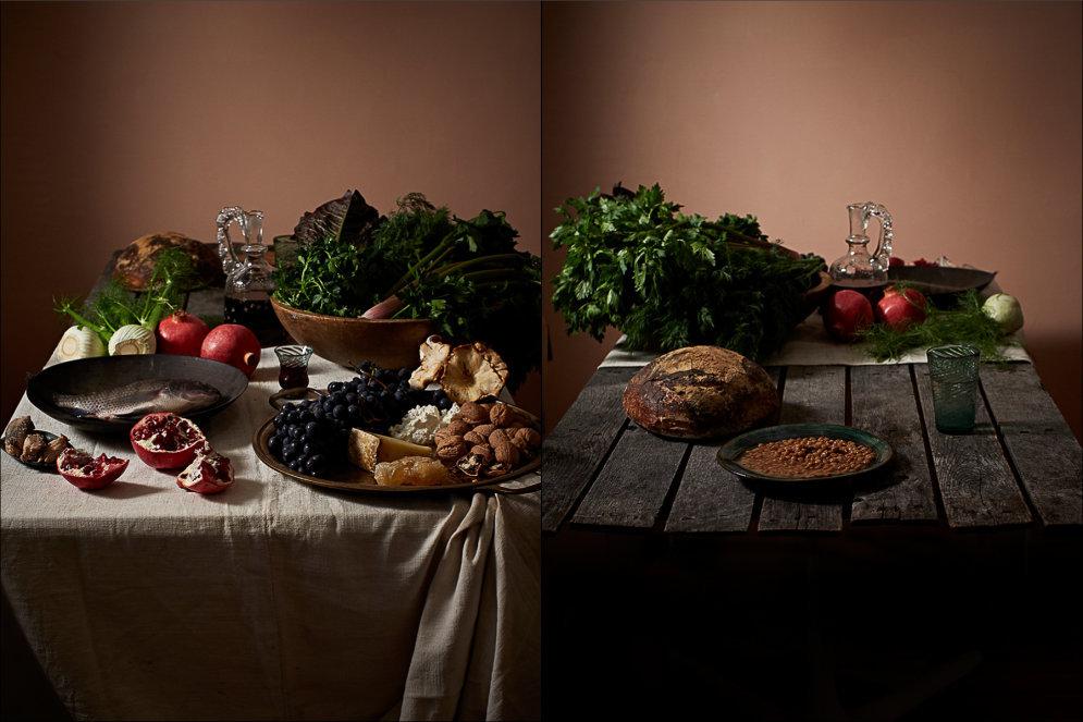 ФОТО. От Римской империи до КНДР: разница в пище самых богатых и бедных людей