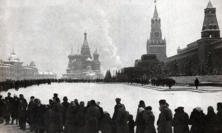 1924 год: Траур по Ленину, сюрреалисты, хранилище фольклора