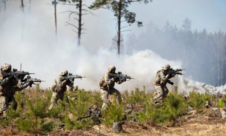 Latvijas pašvaldības atbalsta militāro mācību 'Namejs 2018' norisi visā valstī