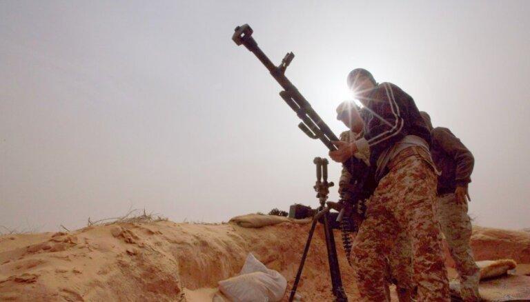Lībijas nemiernieku rokās nonākuši Kadafi ķīmiskie ieroči