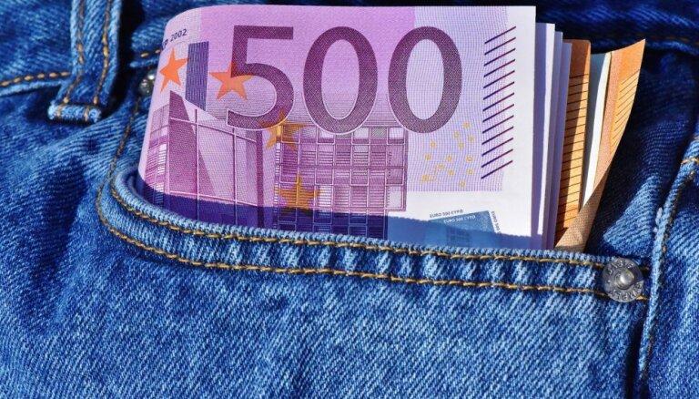 Экономисты: к концу 2020 года средняя зарплата в Латвии вырастет до 1200 евро