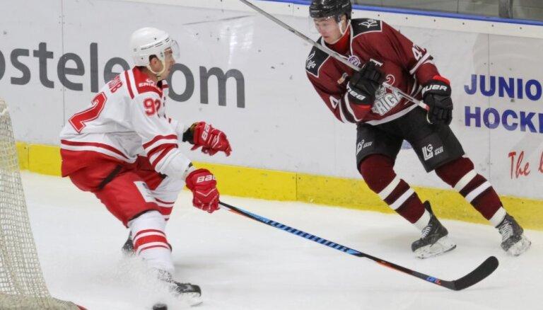'Rīgas' hokejisti cieš zaudējumu arī MHL sezonas otrajā spēlē