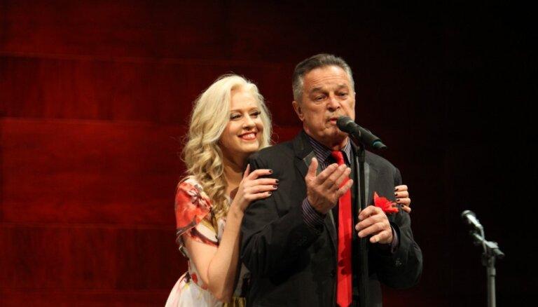 Foto: Aktiera Ivara Kalniņa koncerts Jūrmalas festivālā