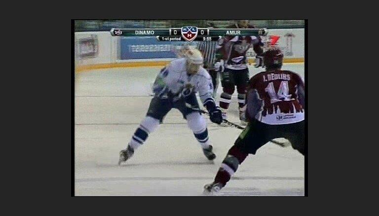 'Dinamo' ar grūtībām pieveic 'Amur'