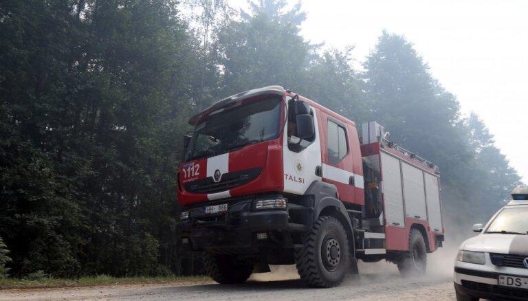 Ceļu satiksmes negadījumā Jelgavā iesaistīta VUGD automašīna