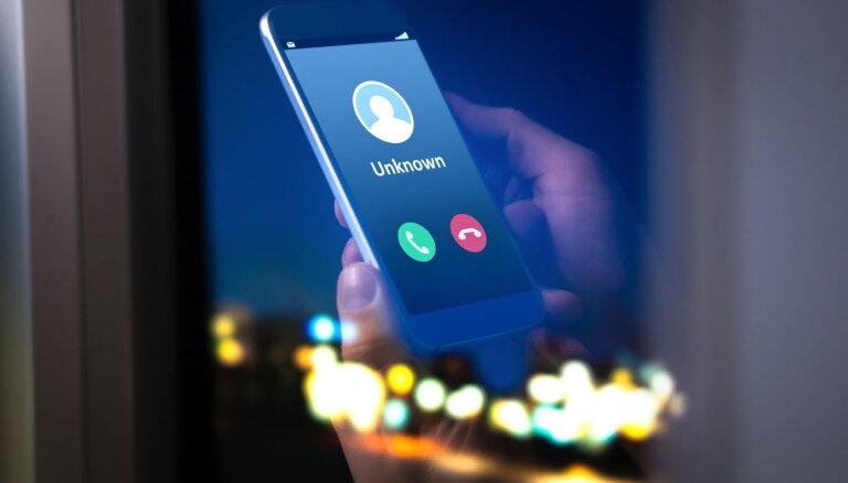 'Var zvanīt arī no jūsu numura' – telefonkrāpnieki izmanto jaunas viltības