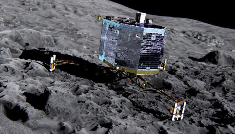Pēdējais mēģinājums sazināties ar zondi 'Philae' uz komētas '67P' cietis neveiksmi