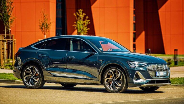 'Audi e-tron Sportback' piedzīvo virtuālu pirmizrādi Latvijā