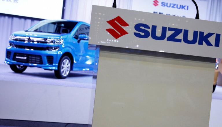 'Suzuki' Japānā atsauc divus miljonus automobiļu