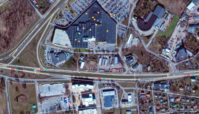 'Spices' apkārtnē plāno būvēt vēl vienu tirdzniecības centru