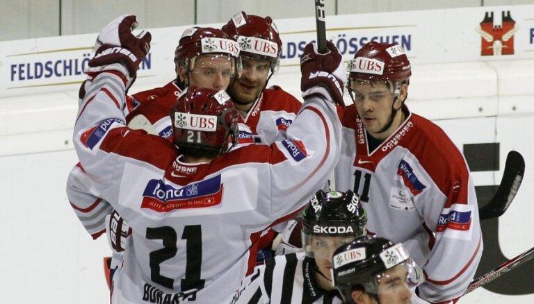 Rīgas 'Dinamo' iekļūst Špenglera kausa pusfinālā