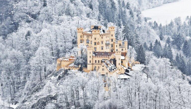 ФОТО. Летняя резиденция королевской семьи в Баварии — сказочный замок Хоэшвангау