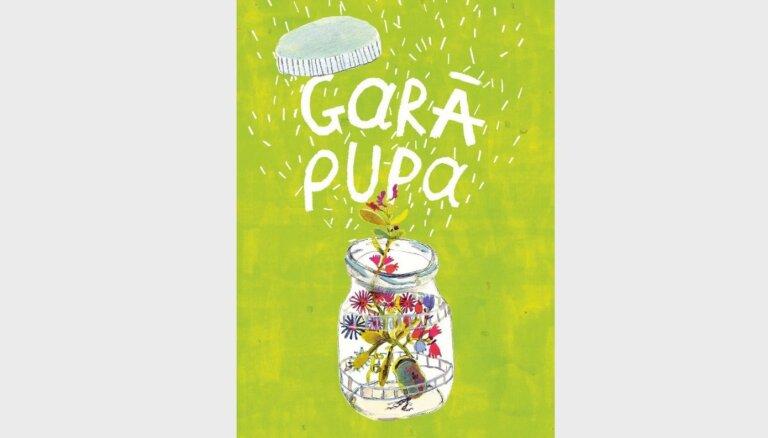 Izdota bērnu dzejas gadagrāmata 'Garā pupa'