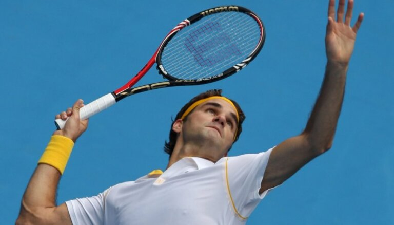 Federers kļūst par Austrālijas atklātā čempionāta uzvarām bagātāko tenisistu