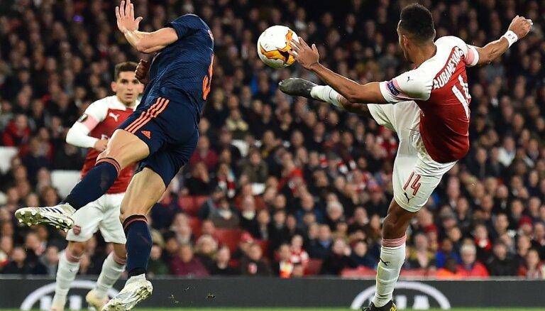 Lakazete ar diviem vārtiem tuvina 'Arsenal' UEFA Eiropas līgas finālam