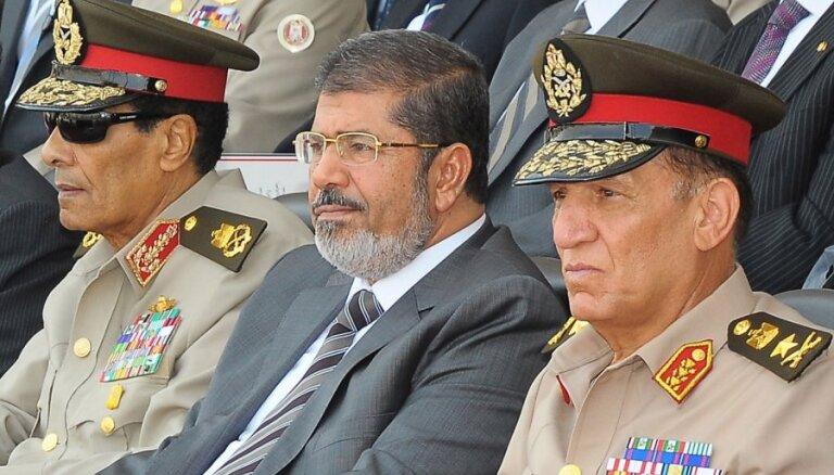 Mursi tur aizdomās par sadarbību ar 'Hamas'