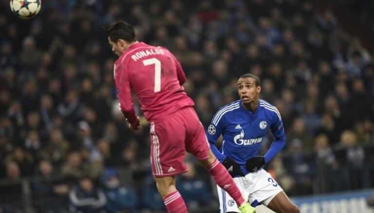 Madrides 'Real' ar uzvaru sāk UEFA Čempionu līgas astotdaļfinālu
