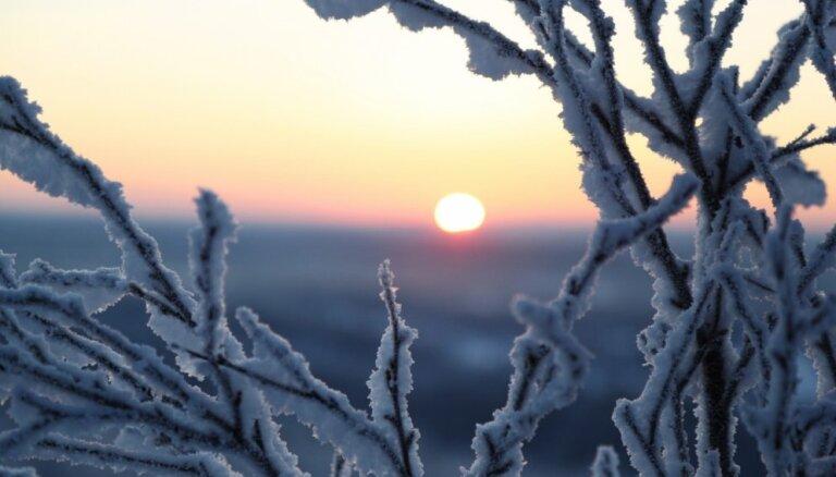 Ночью ожидается мороз  до -10 градусов, местами образуется туман и иней