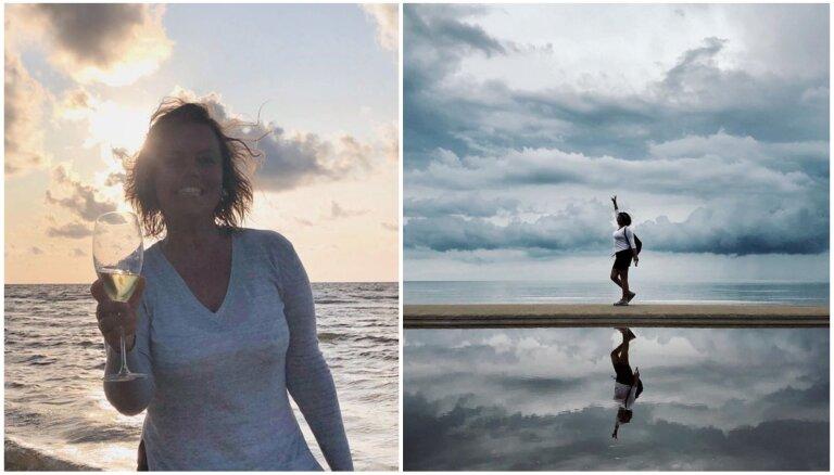 Foto stāsts: Linda Leen skaisti atzīmē vārda dienu