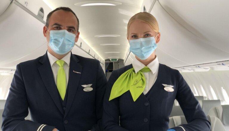 'airBaltic' pārvadāto pasažieru skaits jūlijā pieaudzis par apmēram 90% salīdzinājumā ar jūniju