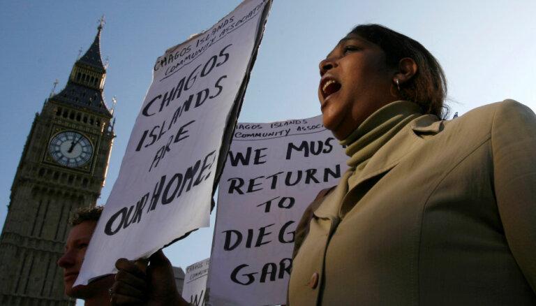 Lielbritānijai Čagosu arhipelāgs jāatdod Maurīcijai, lemj ANO tiesa
